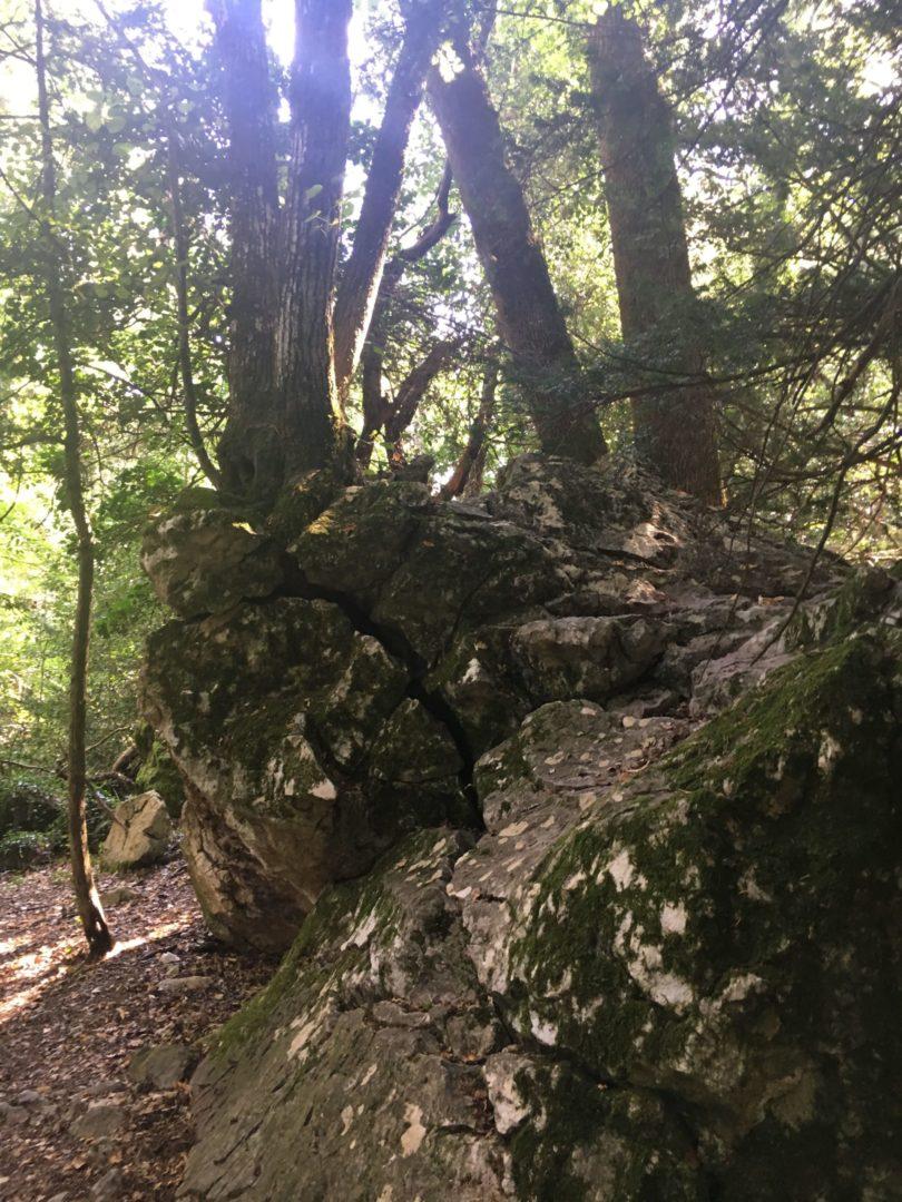 Être ancrer dans le roc