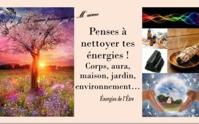 Ton équilibre = l'énergie que tu émanes