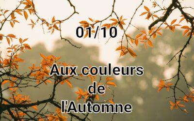 Aux couleurs d'octobre